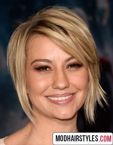 charming asymmetrical short haircut