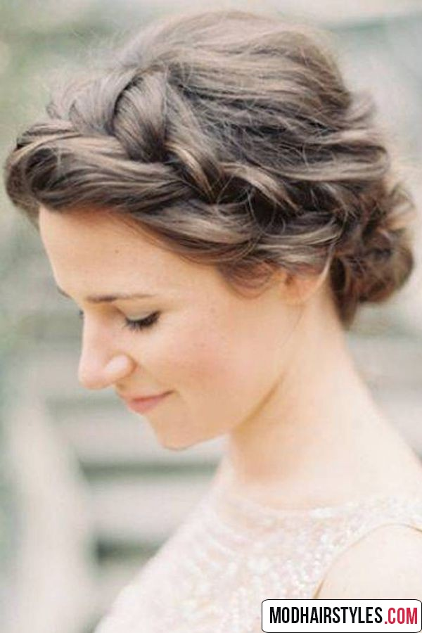 Updo hairstyle idea